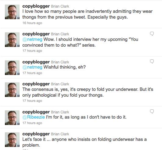 Thong Folding