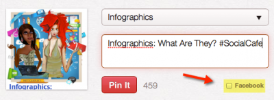 Old Pinterest Facebook Checkbox
