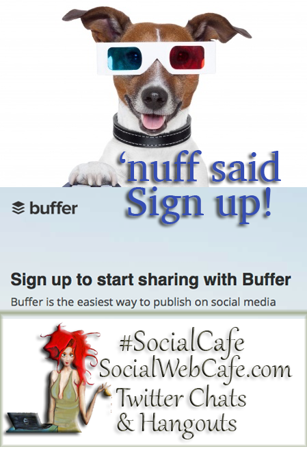 Buffer for finding content and scheduling it!