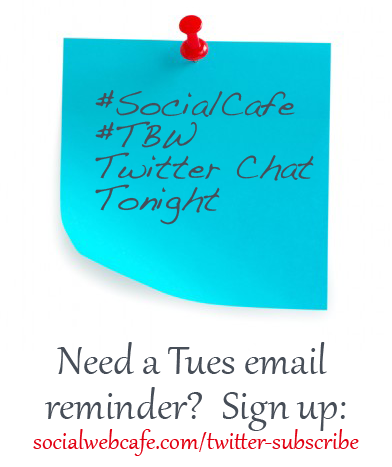 #SocialCafe Twitter Subscribe