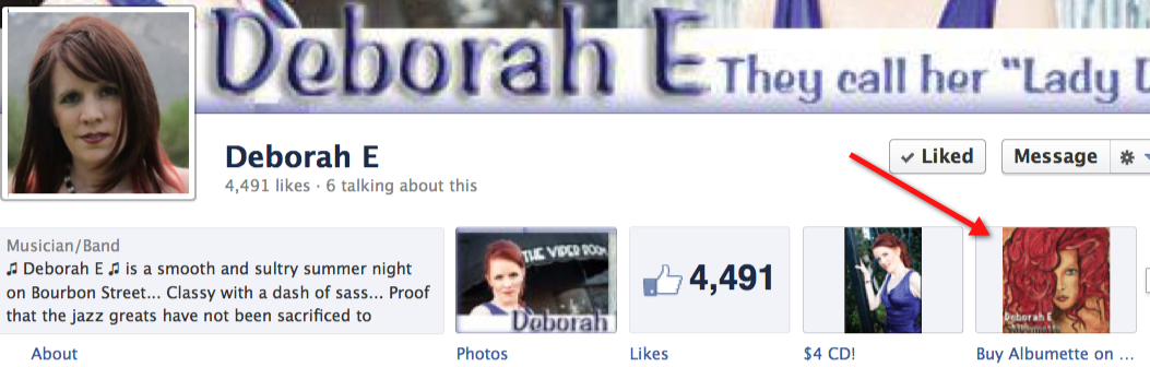 Buy Deborah E's Albumette on iTunes