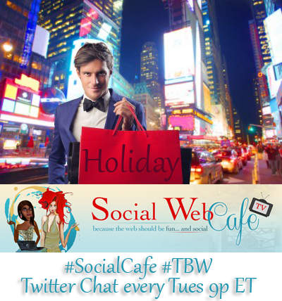 Blogging%20for%20the%20Holidays%20%23SocialCafe%202.27 w/ %40SocialWebCafe http://sw.bcafe.co/5P %28Summary%29 %23SocialCafe