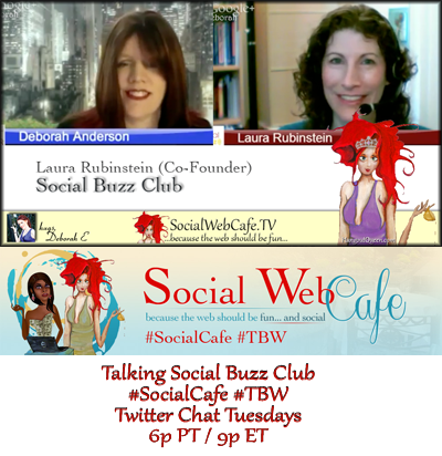 SocialWebCafe Twitter Chat