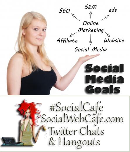 Social%20Media%20Goals%20%23SocialCafe%203.3 w/ %40SocialWebCafe http://sw.bcafe.co/8Y %28Summary%29 %23SocialCafe
