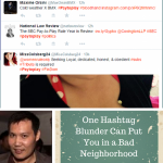 One Hashtag Blunder Can Put You In A Bad Digital Neighborhood