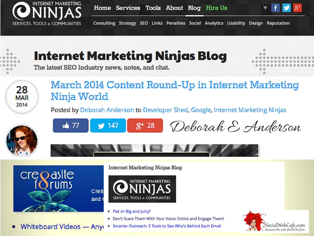 March 2014 Content Round-Up in Internet Marketing Ninja World
