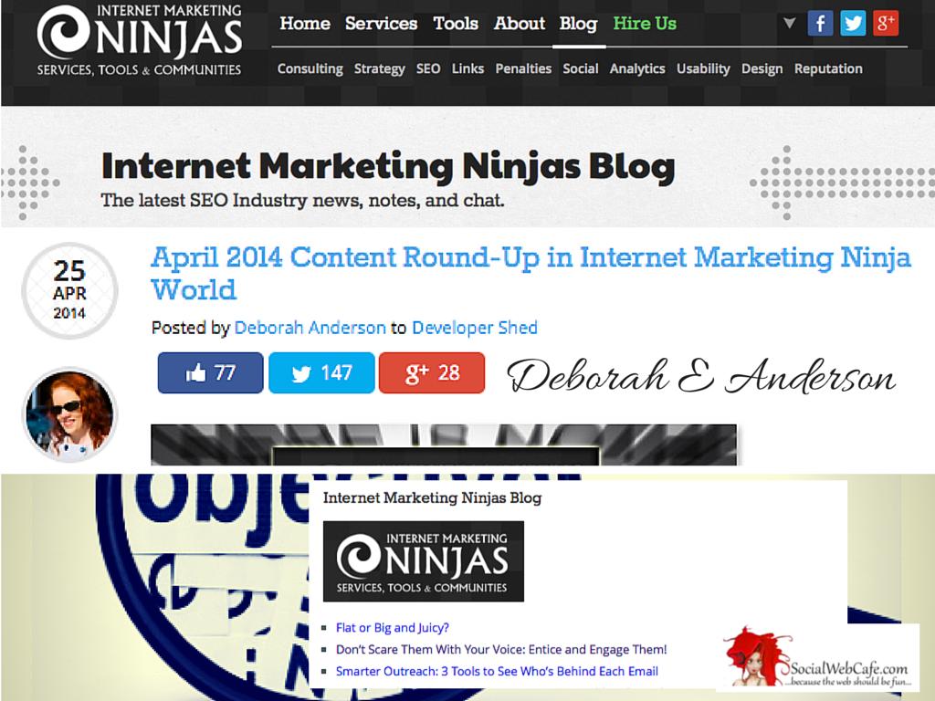 April 2014 Content Round-Up in Internet Marketing Ninja World