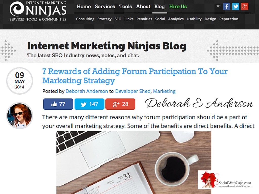 7 Rewards of Adding Forum Participation To Your Marketing Strategy