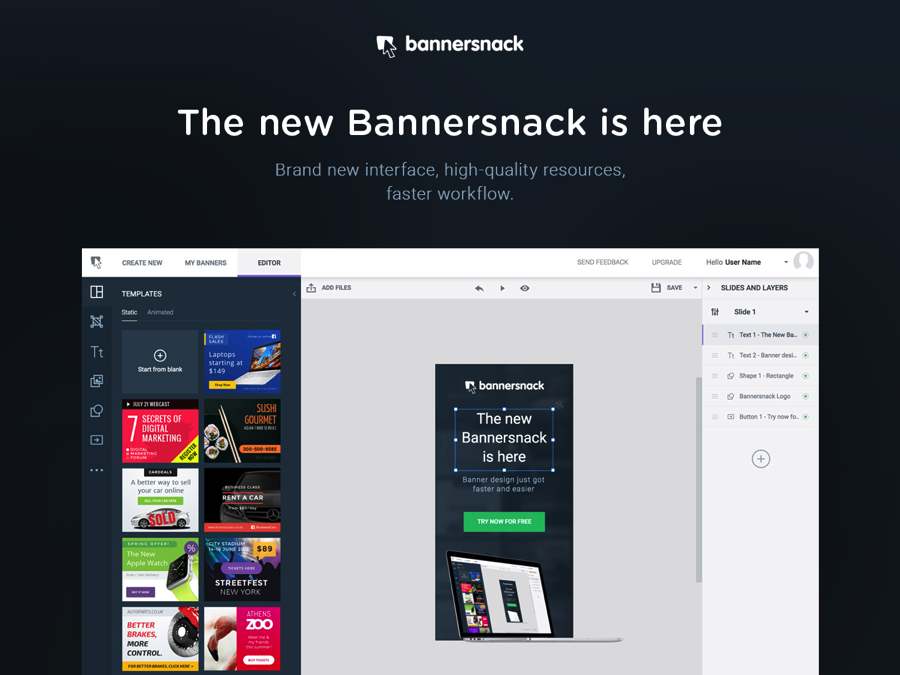 Bannersnack Templates