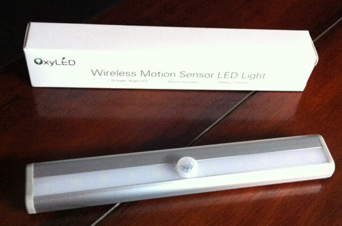 Wireless Motion Sensor LED Light T-02