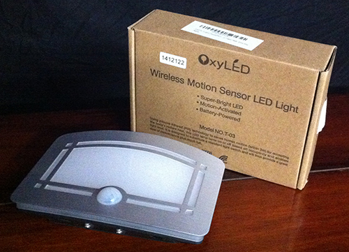Wireless Motion Sensor LED Light T-03